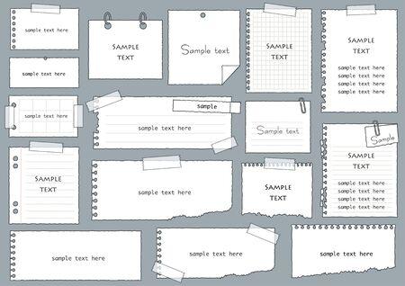 Handwritten Notepad Set