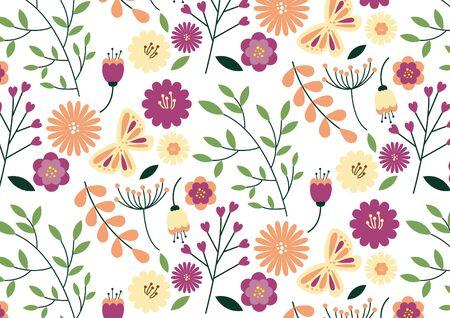 Flower Pattern 1 Иллюстрация