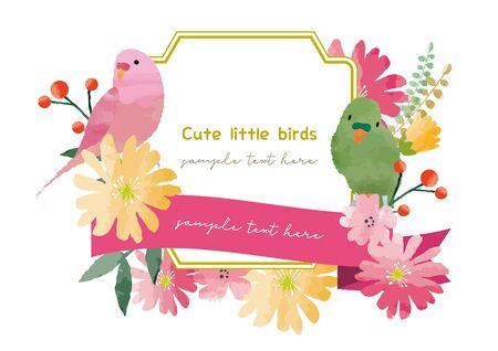 Beautiful frame of a little bird