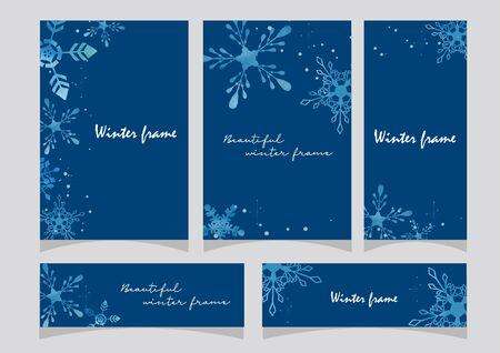 Winter Card Set