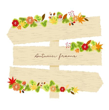 Autumn Billboard Frame