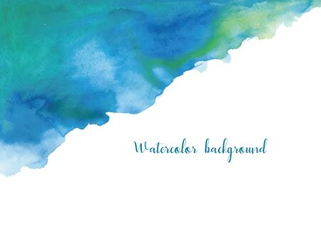 Watercolor Background Frame