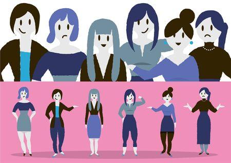 Business People Female Set