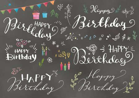 Design materials for birthdays