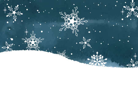 Winter Background_SnowFlakes
