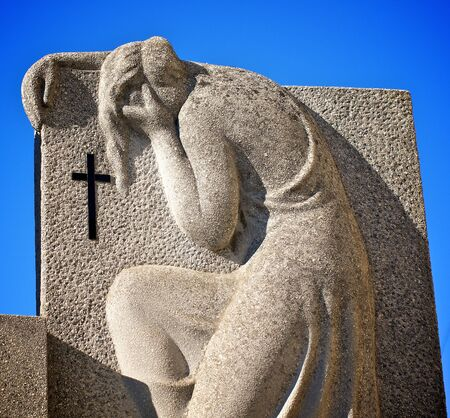 angel cemetery: Sorrow