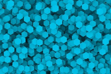 Abstract Hexagon Stock Photo
