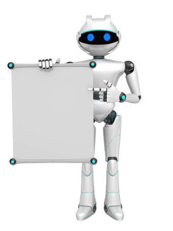 terminator: Robot Stock Photo