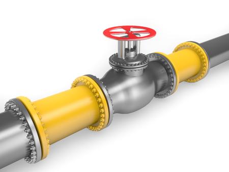 sanitary engineering: Gas pipeline