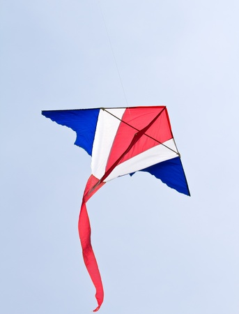 Thai national flag on Kite. photo