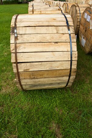 large wooden box photo
