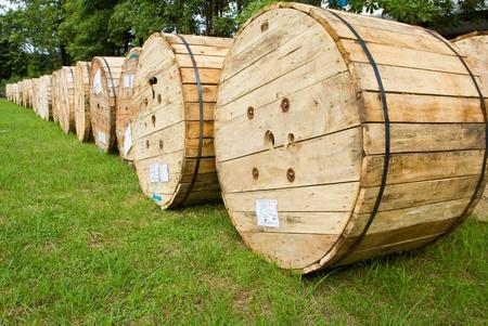 duże drewniane pudełko Zdjęcie Seryjne