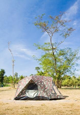 Namiot na górze