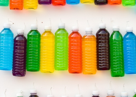Syrup in a plastic bottle Stock Photo - 13147635