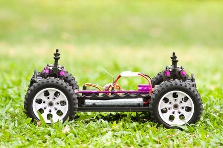 Zamknij się z RC zabawka samochód 4x4