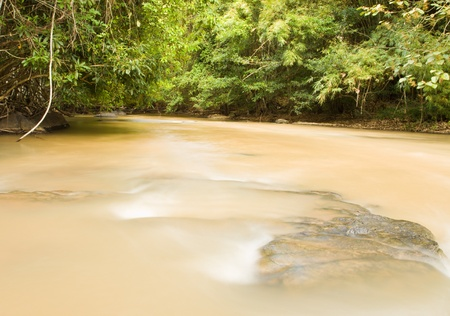 Sridit Waterfall of KHAOKHO Mountain at Petchbun province,THAILAND Stock Photo - 13391022