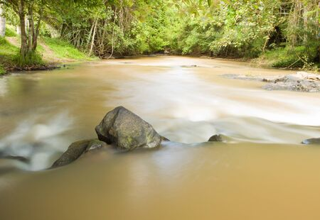 Sridit Waterfall of KHAOKHO Mountain at Petchbun province,THAILAND  photo