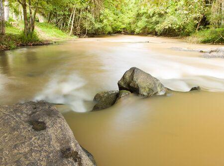 Sridit Waterfall of KHAOKHO Mountain at Petchbun province,THAILAND Stock Photo - 13391113