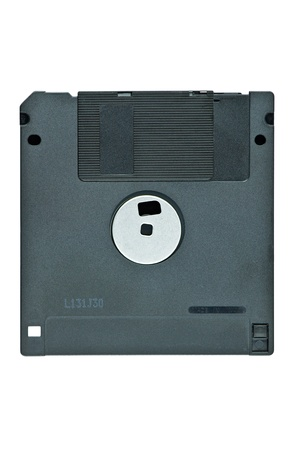 floppy disks with white isolated photo
