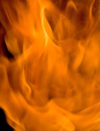 Fire and smoke  Zdjęcie Seryjne