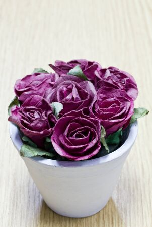 Paper roses  Stock Photo - 15576186