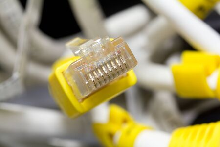 Ethernet connector   Stock Photo - 15576161