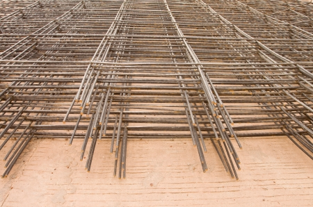 Structural steel in construction  Stock Photo