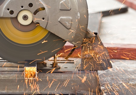 Steel cutter   Stock Photo