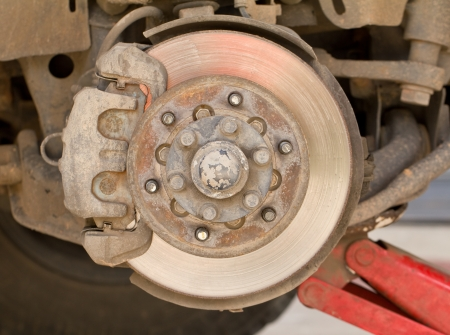 Maintenance suspension and brakes