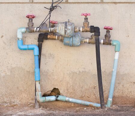 Water meter and Plumbing   photo