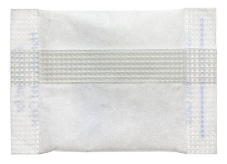 silica: Envelope of silica gel desiccant in medicine   Stock Photo