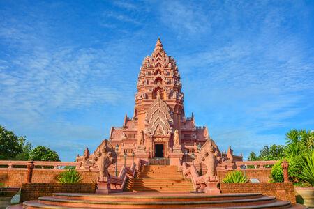buriram: Pink Temple at Buriram Thailand