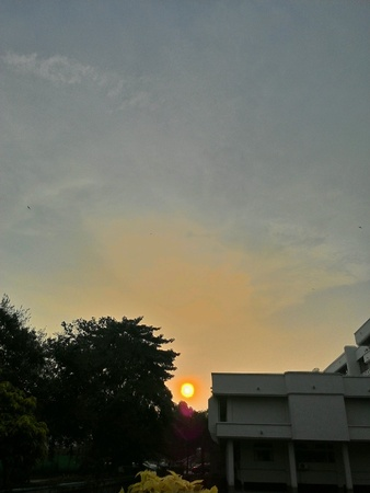 auras: Auras of Sun Stock Photo