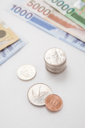 won: South Korean won currency