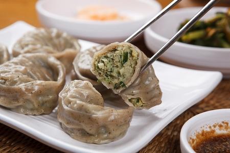 Buckwheat Dumplings on plate