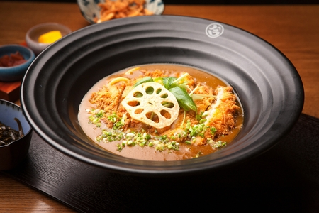 japanese cookery: Curry Udon Pork Cutlet