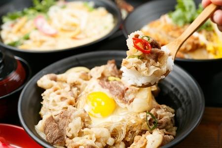 japanese cookery: Gyudon