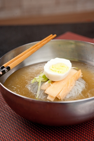 favorite soup: Mul naengmyeon