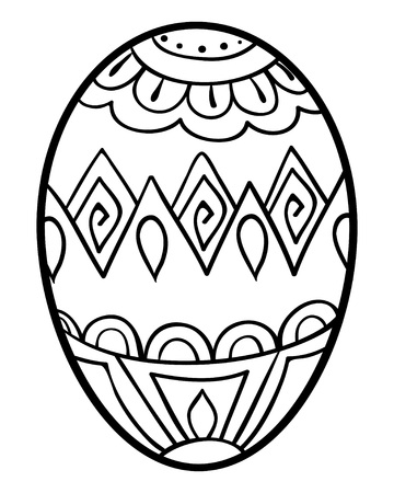 Egg icon for adults and children.  イラスト・ベクター素材