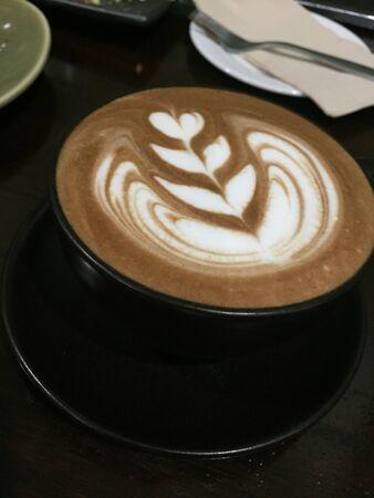 tarde de cafe: Caf� por la tarde Foto de archivo
