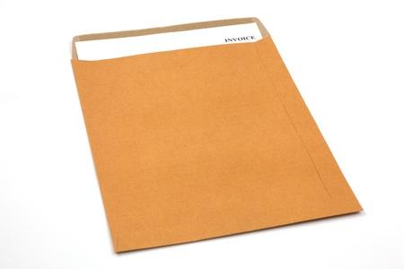 invoice, estimates and statements in folderi Stock Photo - 18808915
