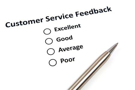 Customer Service Feedback Stock Photo - 20269842