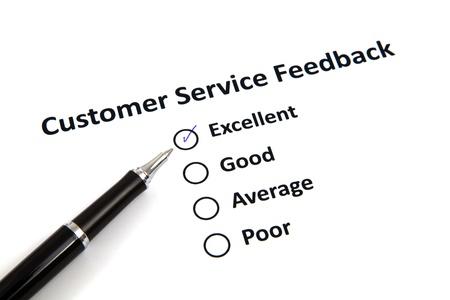 Customer Service Feedback Stock Photo - 20276737