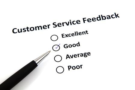 Customer Service Feedback Stock Photo - 20276681