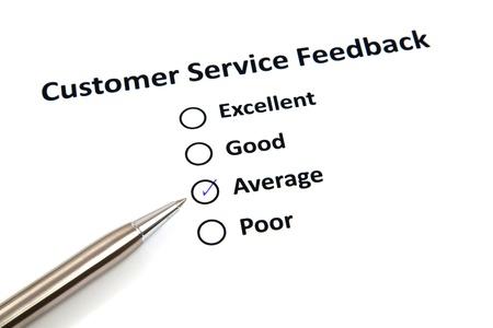 Customer Service Feedback Stock Photo - 20276666