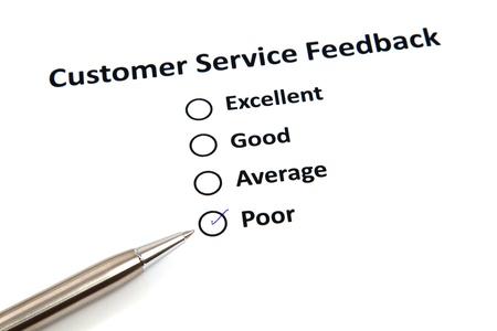 Customer Service Feedback Stock Photo - 20276783