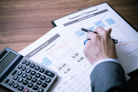 contabilidad: Hombre An�lisis Business Accounting