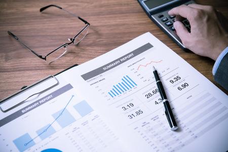 analysis: Man Analysis Business Accounting