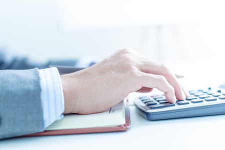Man Analysis Business. Accounting photo
