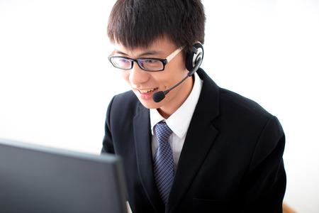 servicio al cliente: Operador de negocios de Asia